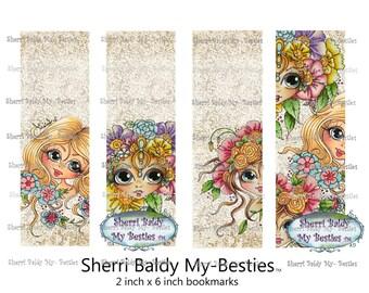 INSTANT DOWNLOAD My Besties Printable Bookmarkers  Sherri Baldy