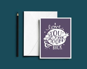 Valentines Day Gift Card Greetings Card Love Occasion Anniversay A5 With Envelope