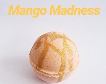 Mango Madness Bath Bomb-Great Gift-homemade-Graduation Gift