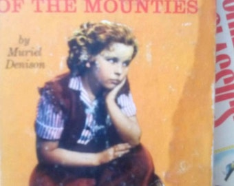Shirley Temple Susannah of the Mounties Book-Denison