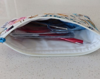 Zippered Notions Pouch