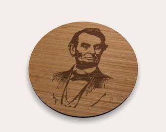 Abraham Lincoln 262-100 Coaster (Set of 4)
