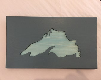 Lake Superior cut out.