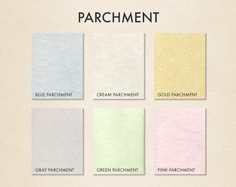 8 1/2 x 11 Paper - Parchments Collection (50 Qty.)