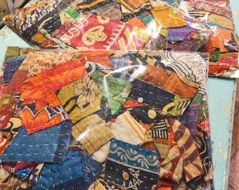Kantha Quilt Scrap Pack