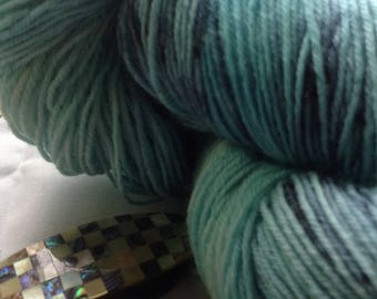 100% Blue Faced Leicester Sock Yarn 100grams