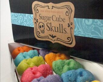 SUGAR SKULLS for unushual Valentine Gifts // Skull Gifts // Dia De Los Muertos // Edible Sugar Skulls // 72 Mini Skulls // Gothic Valentine