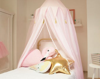 princess canopy bed canopy baldachin princess decor bed netting mosquito net - Girls Canopy Bed