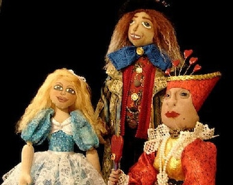 Alice in Wonderland -Art Doll Set (Made by Request) (3)