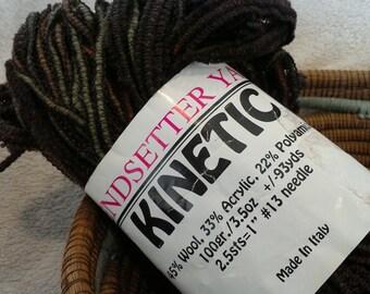 Kinetic Trendsetter Yarn  Earth Tones