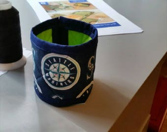 Seattle Mariners Quilted mug cozy