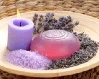 Handmade Lavender Bath Soap