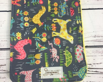 Animal Burp Cloth / Farm Animal Burp Cloth / Baby Burp Cloth