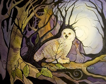 Snowy Owl's Prophesy, Signed Open Edition