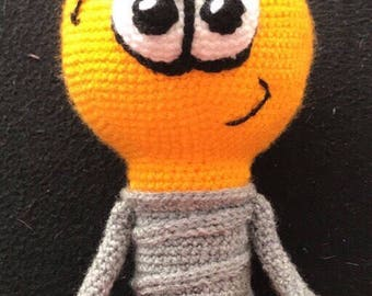 Crochet Instruction Bombilla light bulb