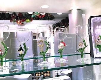 Season's Design Christmas Goblet Assortment (Set of 6) SD-97106000006