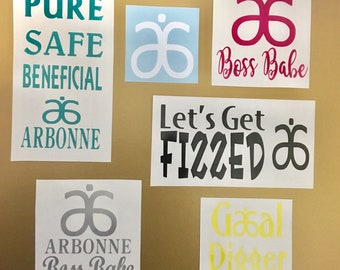 Arbonne decal only