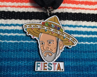 LIMIT 4: FIESTA Coach Popovich, the fiesta medal (see description for details)