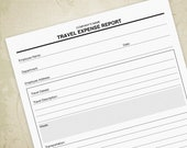 Travel Expense Report Pri...
