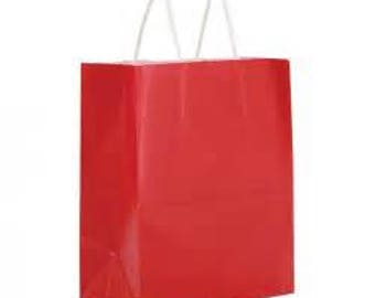 Glossy Paper Bags and Kraft Bags
