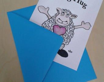 Card A big Hug