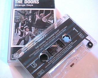 The Doors Vintage Music Audio Cassette Tape - Strange Days - Elektra - Made in Germany - New