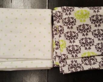 Flannel receiving blankets - 2 pack