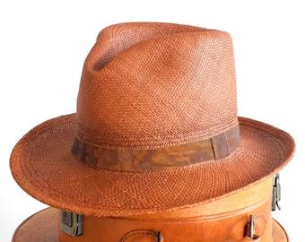 Panama Fedora Hat Straw Fedora Hat Men's Hat Spring Fashion Women's Hat Men's Summer Hat Men's Straw Hat Panama Straw Hat Panama Hat