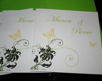 Do Green Butterfly Theme wedding or purple