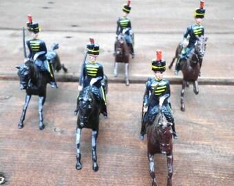 Number 8 - 4th Hussars Britains Metal Soldiers