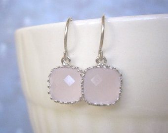 Blush Pink Earrings, Petite Earrings, Sister, Wife, Girlfriend, Best Friend, Mom