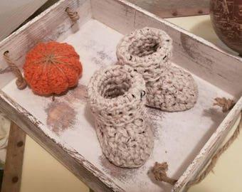 Baby booties , crochet baby booties, crochet booties