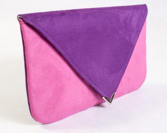 Fun envelope clutch purse in the Color of Your Choice
