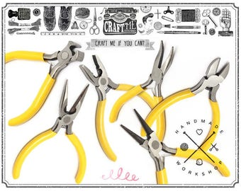1pc Jewelry Pliers, Wire Cutters, Needle Nose, Bent Nose, Round Nose Pliers, Jewelry MakingTools