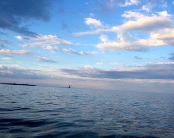 Casco Bay at Sunset