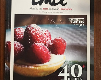 TMix+ Issue 1 2015 Spring/Summer Edition Thermomix Cook Book 40+ Recipes