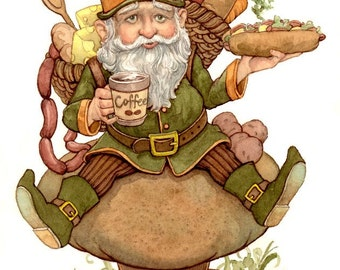 Gnome for the Home 8.5x11 Signed Print