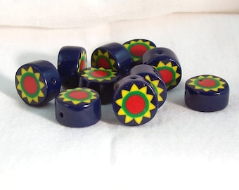 NOW ON SALE Polymer Clay Handmade Little Beads