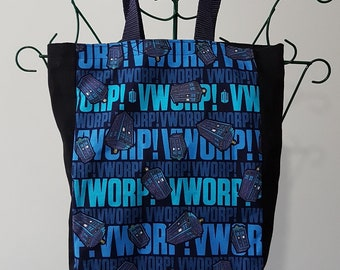 Book Bag - Doctor Who, Vworp!