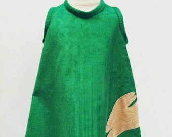 Green Easter Bunny dress