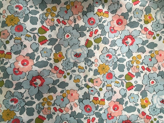 Tana lawn fabric from Liberty of London, Betsy