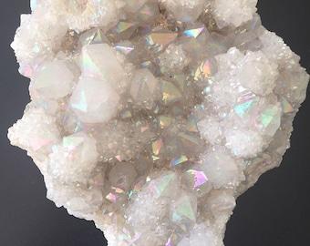 Angel Aura Spirit Quartz Cluster #2