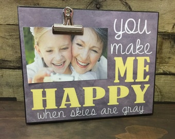 You Make Me Happy, Valentine's Day Gift, Couples Gift, Birthday Gift, Christmas Gift, Mother's Day Gift