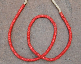 Old Snake Beads: Coral