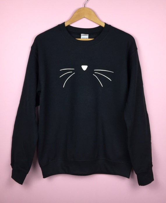 Cat Sweatshirt. Cat Face Sweater. Cat Face Shirt. Cat Face Sweatshirt. Cat Lover Gift. Cat Shirt. Cat Face Shirt. Cat Sweatshirt. Cat Shirt. by Etsy