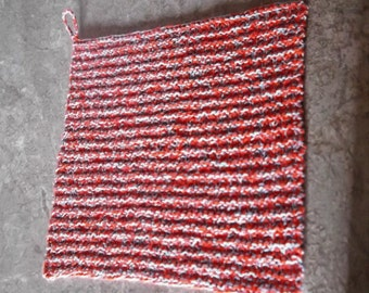 want a  hand knit cotton airy dish cloth scrubbie worth using   * *I Support Donald Trump FOR PRESIDENT!!!