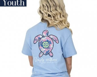 Simply Southern® Yth-SAVE-HIBI-BLUES
