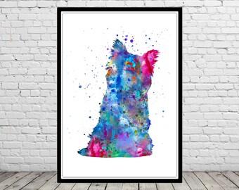 Cairn Terrier, watercolor Cairn Terrier, Cairn Terrier print, terrier, terrier print, watercolor terrier, dog print, dog art, dog (3107b)