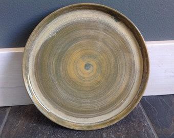 Handmade Stoneware Ceramic Plate