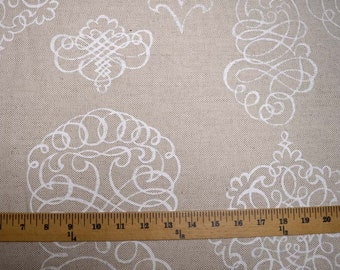 Calligraphic Chalk Kaufmann Fabric